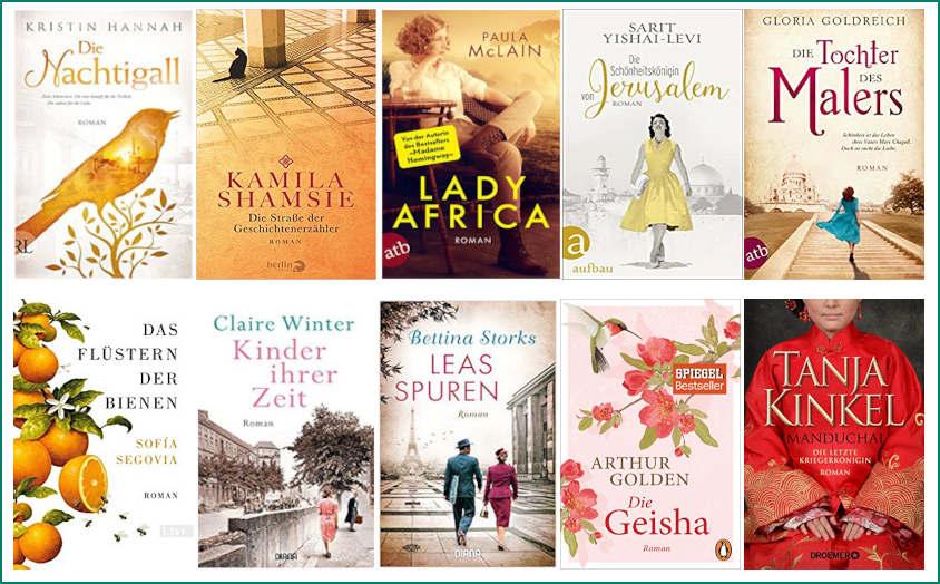 Top Ten Thursday #538 Cover Romane